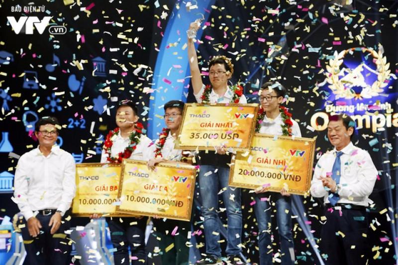 Phan Đăng Nhật Minh vô địch 'Đường lên đỉnh Olympia 2017'