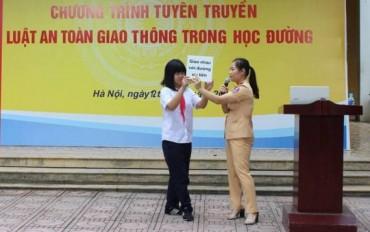 Tăng cường tuyên truyền luật ATGT trong trường học