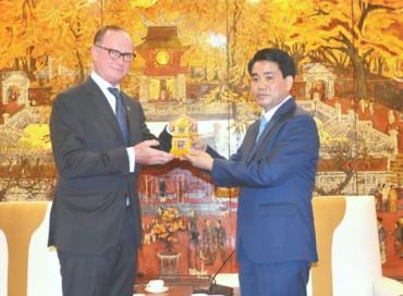 Hà Nội sẵn sàng tạo điều kiện cho doanh nghiệp Áo hợp tác đầu tư