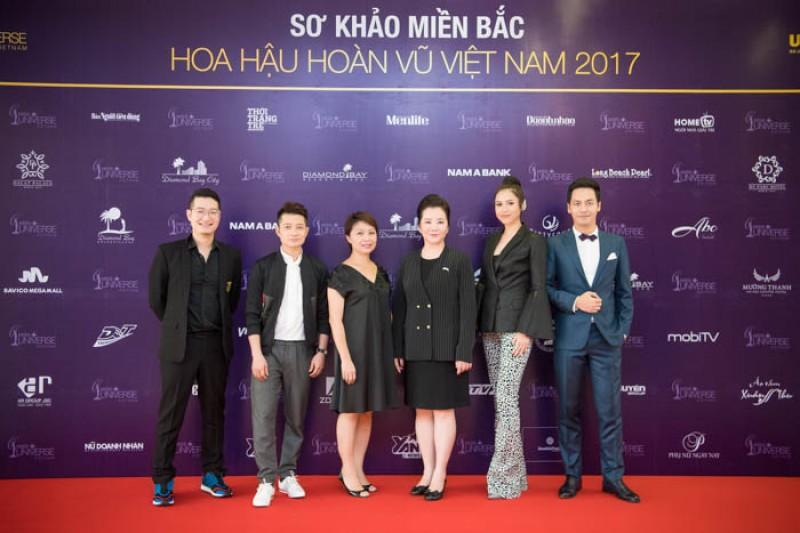 Lộ diện Ban giám khảo Hoa hậu Hoàn vũ Việt Nam 2017 vòng sơ khảo miền Bắc