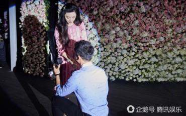 Phạm Băng Băng nghẹn ngào khi Lý Thần cầu hôn