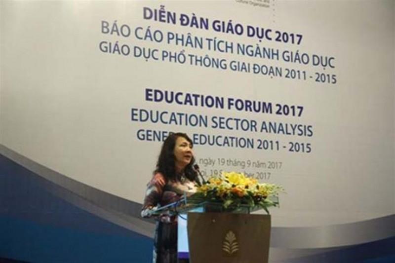 Kết quả học tập các môn của học sinh Việt chưa đều