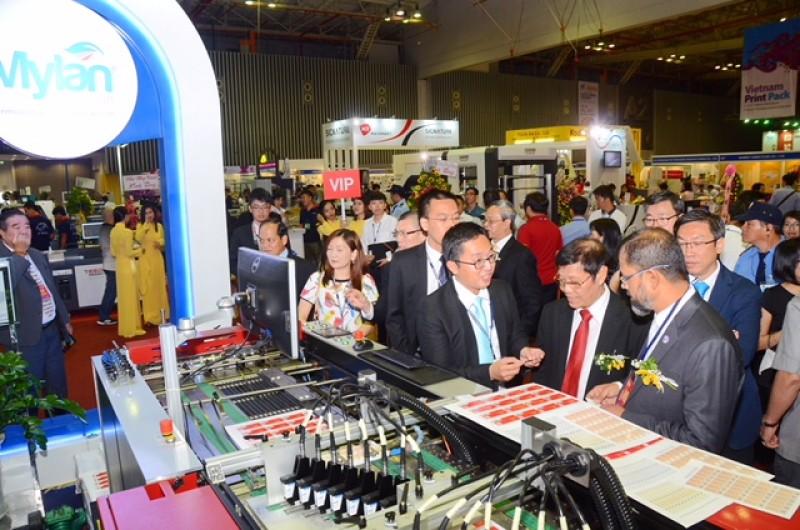 Vietnam Print Pack 2017 thu hút 300 đơn vị từ 11 quốc gia và khu vực