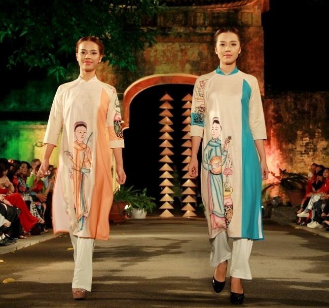 Khuyến khích du khách mặc áo dài đến Festival Áo dài Hà Nội