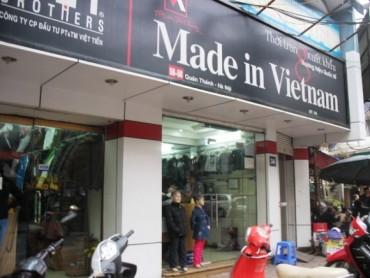 Để người Việt  được dùng hàng Việt