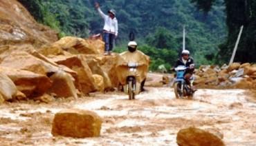 Cảnh báo sạt lở đất, lũ quét tại Thanh Hóa, Nghệ An, Hà Tĩnh