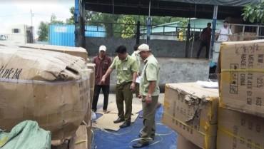 Phát hiện kho chứa hàng nghìn sản phẩm nhập lậu tại Bình Dương