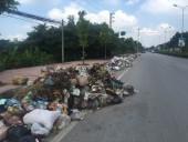Thị xã Sơn Tây vẫn dồn ứ rác sinh hoạt