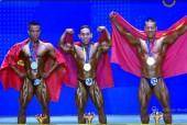 Lực sĩ Phạm Văn Mách lần thứ 5 vô địch thế giới