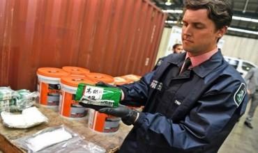 Australia thu giữ lượng tiền chất ma túy đá lớn nhất lịch sử