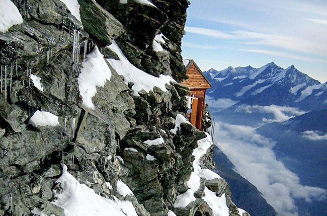 Tim đập, chân run tại 9 địa điểm nguy hiểm nhất thế giới