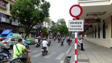 Hà Nội cấm ô tô hoạt động trên một số tuyến phố quanh Hồ Gươm