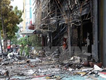 Truy tố 3 đối tượng trong vụ cháy quán karaoke làm 13 người tử vong