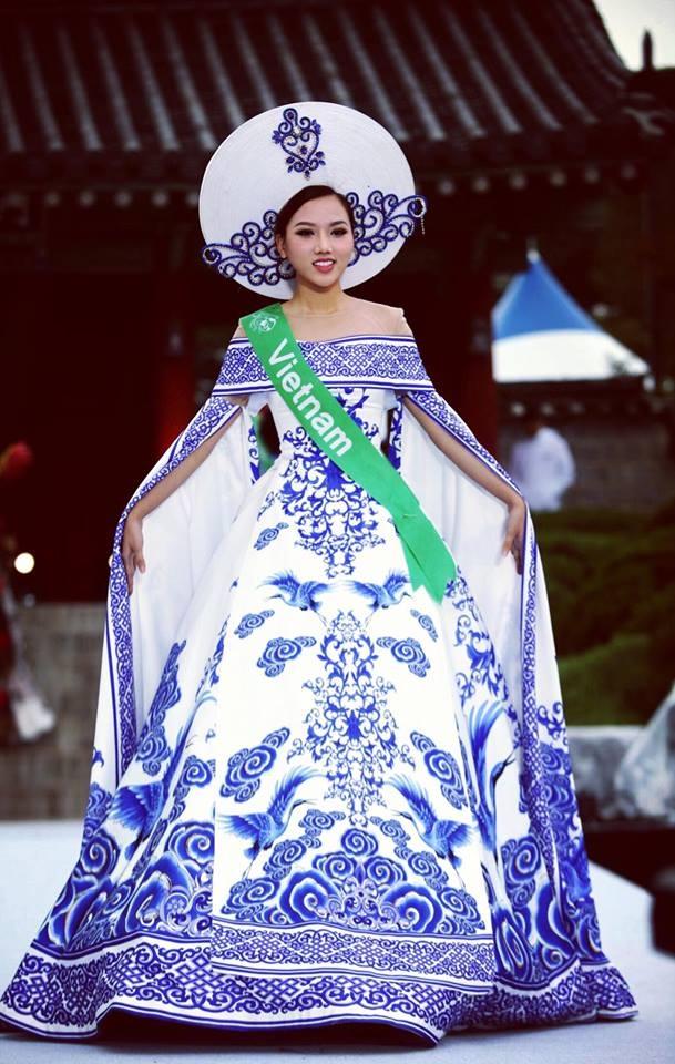 Người đẹp Thu Thảo lên ngôi Nữ hoàng Sắc đẹp toàn cầu tại Hàn Quốc