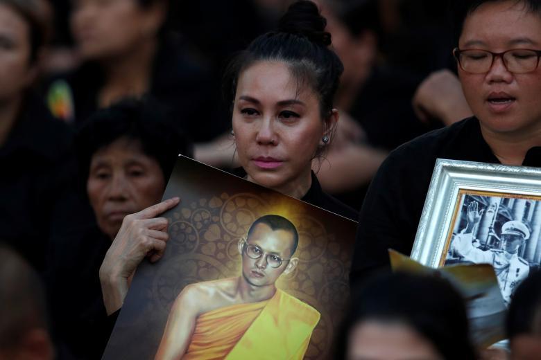 thai lan to chuc le hoa tang co quoc vuong bhumibol
