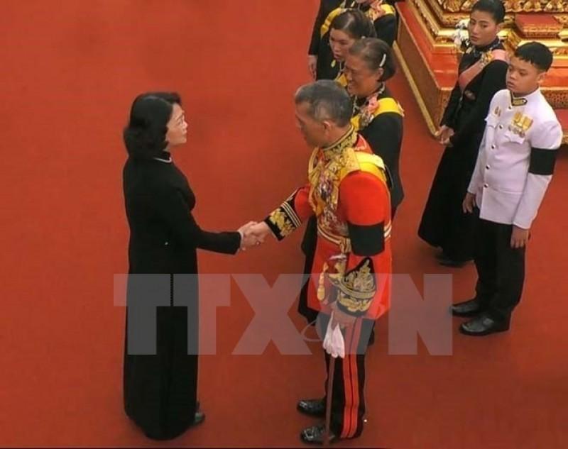 Phó Chủ tịch nước Đặng Thị Ngọc Thịnh dự Lễ hỏa táng Nhà Vua Thái Lan