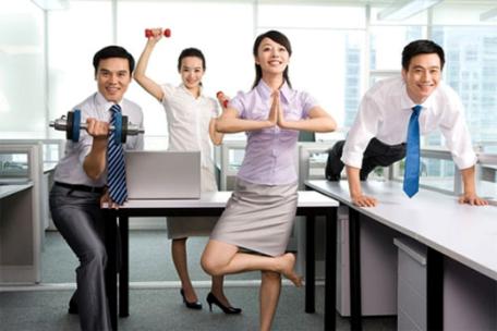 Bí quyết: 5 phút mỗi ngày để giữ vóc dáng cho dân văn phòng