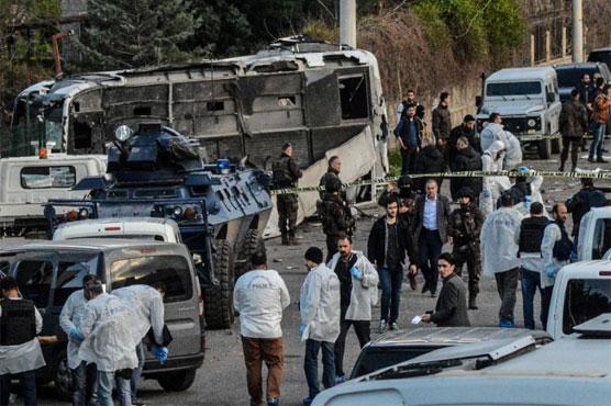 Nổ lớn ở Thổ Nhĩ Kỳ, 31 người thương vong