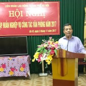 LĐLĐ Hà Nội tổ chức tập huấn công tác văn phòng