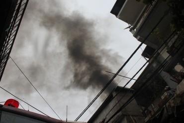 Hà Nội: Cháy tại ngôi nhà 3 tầng ở Hàng Giấy, 2 người thương vong