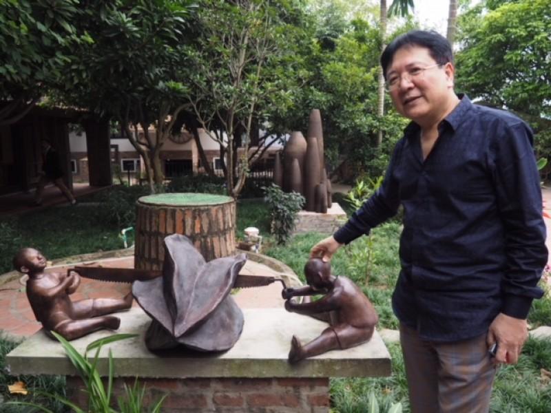 NSND Vương Duy Biên với không gian nghệ thuật độc đáo sáng tạo