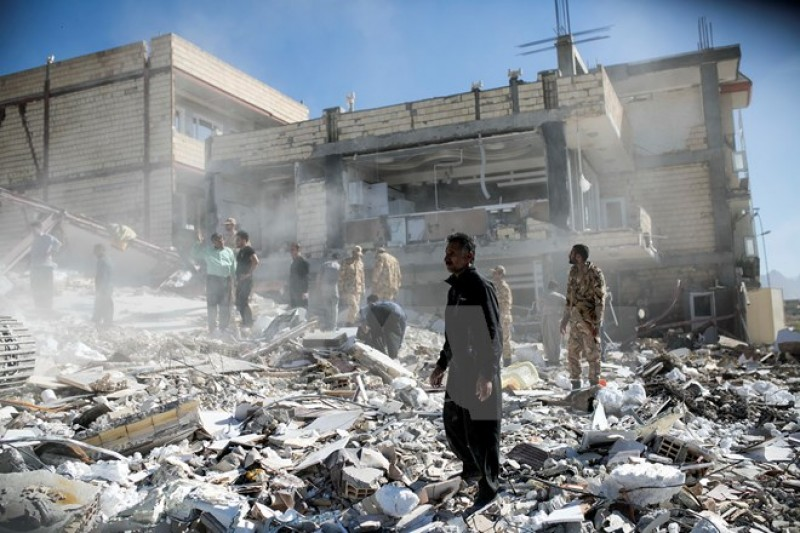 Động đất ở biên giới Iran-Iraq: Đã có tới gần 7.000 người chết