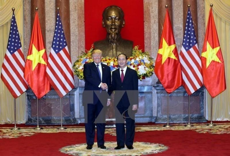 Nhà Trắng hoan nghênh kết quả chuyến thăm Việt Nam của Tổng thống Donald Trump