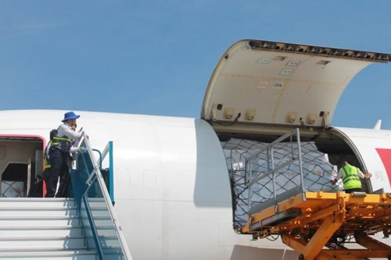 Máy bay chở hàng cứu trợ của ASEAN hạ cánh ở Cam Ranh