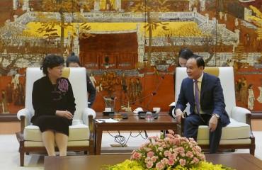 Hà Nội tăng cường hợp tác với tỉnh Vân Nam (Trung Quốc)