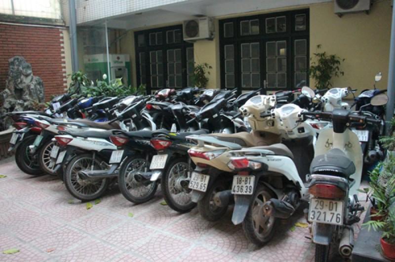 Công an TP Hà Nội triệt phá nhiều ổ nhóm trộm cắp, tiêu thụ xe máy liên tỉnh