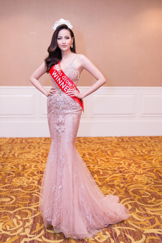 Hoa hậu Hoàn cầu Khánh Ngân trở thành Đại sứ Hòa bình Thế giới