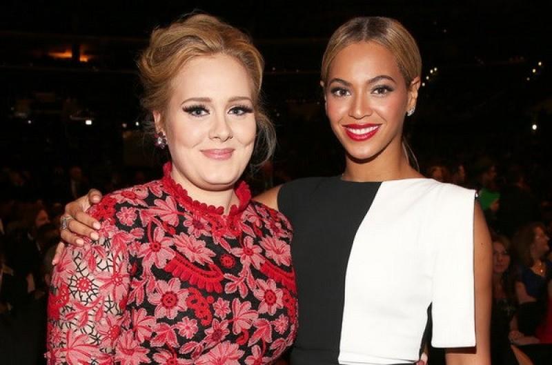 Đại chiến 'Ong chúa' Beyonce và 'Họa mi' Adele tại Grammy 2017