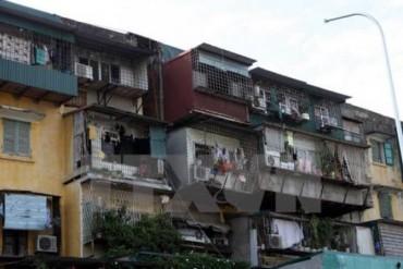 Đẩy mạnh cải tạo, xây mới chung cư cũ