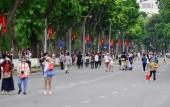 Hà Nội dự kiến tiếp tục thí điểm phố đi bộ đến tháng 6/2017