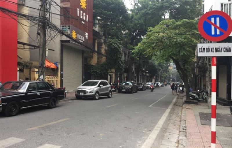 Hà Nội thí điểm đỗ xe theo ngày chẵn, lẻ: Đường phố thông thoáng, ngăn nắp hơn