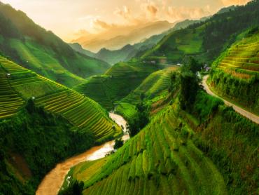 Mù Cang Chải nằm trong danh sách những dãy núi đẹp nhất thế giới