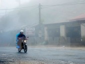 Không khí lạnh tăng cường khiến miền Bắc rét đậm, Hà Nội 12 độ C