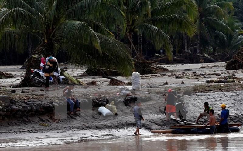 Philippines: Số người thiệt mạng do bão Tembin đã lên tới 240 người