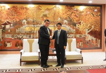 Cộng hòa Xây-sen hỗ trợ Hà Nội xử lý rác thải bằng công nghệ khí hóa