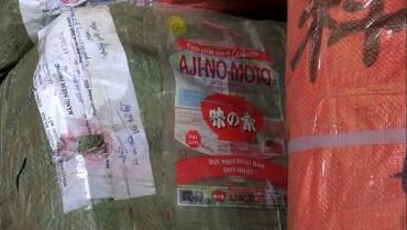 Phát hiện gần 1 tấn bao bì nghi làm giả hãng bột ngọt, bột canh nổi tiếng