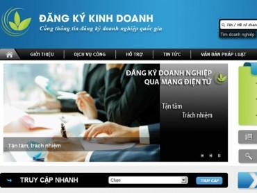 Hà Nội dẫn đầu cả nước về tỷ lệ hồ sơ đăng ký kinh doanh qua mạng