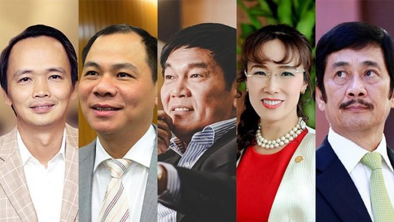 10 người giàu nhất sàn chứng khoán Việt 2017