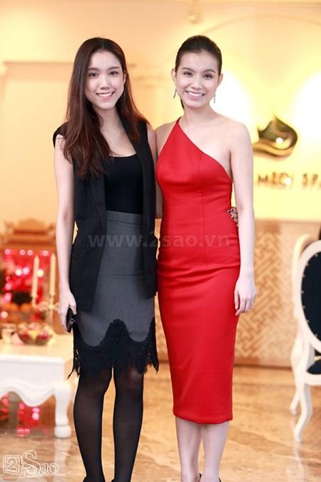 Thùy Linh có nhan sắc và vóc dáng không thue kém chị gái Thùy Lâm