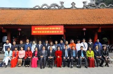Hà Nội: 175 học sinh tham dự kỳ thi học sinh giỏi quốc gia