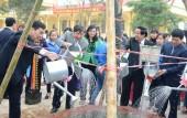 Ngành giáo dục Hà Nội phát động lễ tết trồng cây năm 2017