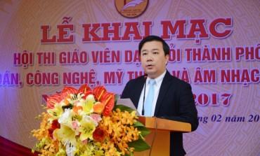 179 giáo viên THCS dự Hội thi giáo viên dạy giỏi thành phố