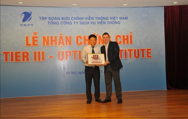 vnpt nhan chung chi uptime tier iii
