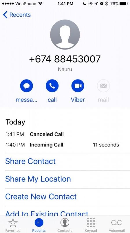 Coi chừng những cú điện thoại lạ mất tiền triệu