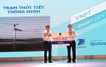 Tỉnh Quảng Bình tiếp nhận hai trạm thời tiết thông minh