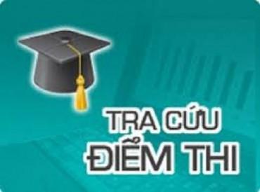 Chính thức công bố điểm thi THPT quốc gia